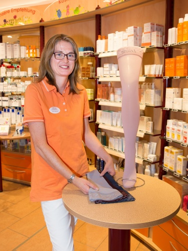 Foto: Pharmazeutisch-technische Assistentin (PTA) Nora Oberdorf