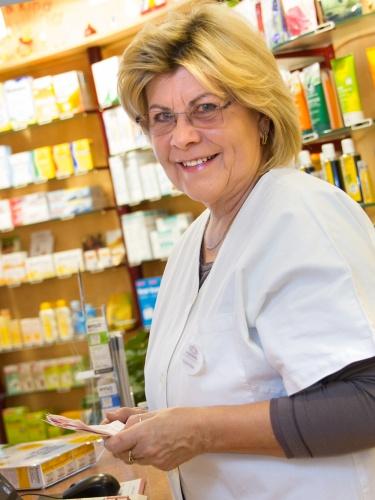 Foto Pharmazie-Ingenieurin Rosemarie Mann